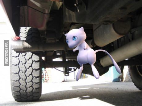 My brothers friends cousins dad works for Pokemon GO and said if you look under a truck you will find Mew.
