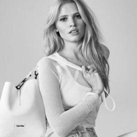 Lara Stoun u kampanji Calvin Klein Jeans leto 2015 | Blender Online
