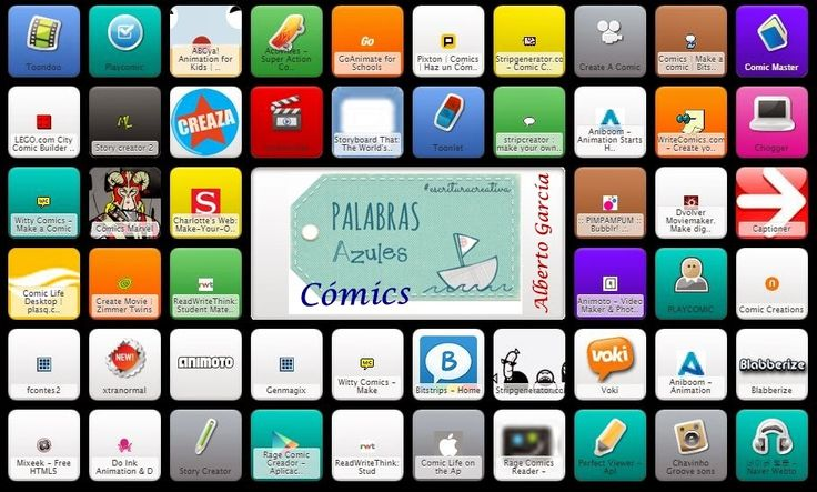 Symbaloo: Herramientas para crear Cómics y Animaciones | PaLaBraS AzuLeS @palabrasazules_
