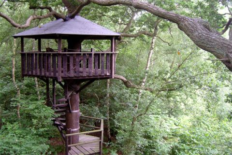 We're getting married at the Wise Wedding Venue near Tonbridge, Kent. Forests, lanterns & treehouses -wonderful stuff!