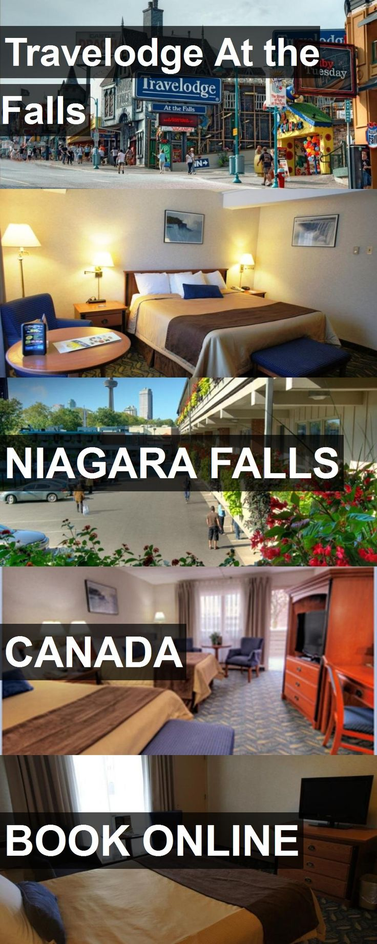 Hotel Travelodge At the Falls in Niagara Falls, Canada. For more information, photos, reviews and best prices please follow the link. #Canada #NiagaraFalls #TravelodgeAttheFalls #hotel #travel #vacation