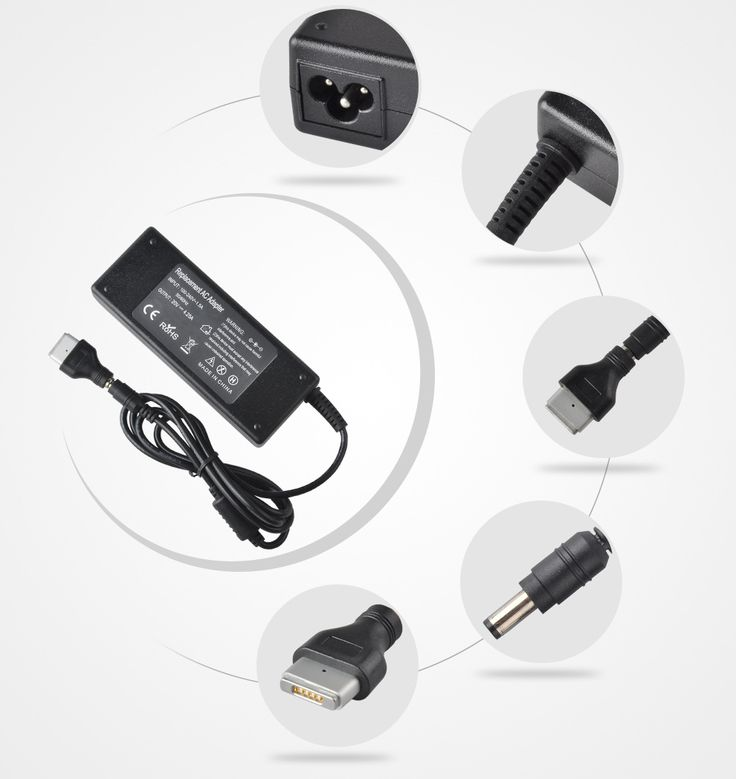 """20V 4.25A 85W AC Laptop Power Adapter Charger for Apple Macbook Pro 15"""" 17"""" Retina Display A1425 A1398 A1424"""