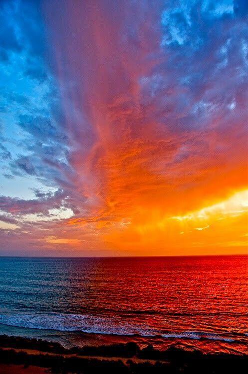 Magnifique coucher du soleil !
