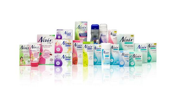 Register with Nair for Coupons