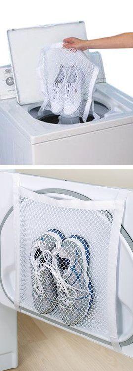 Shoe Wash & Dry Bag // #timesaving #workout #genius