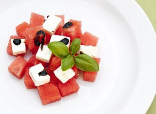 Denny Chef Blog: Insalata di anguria e feta