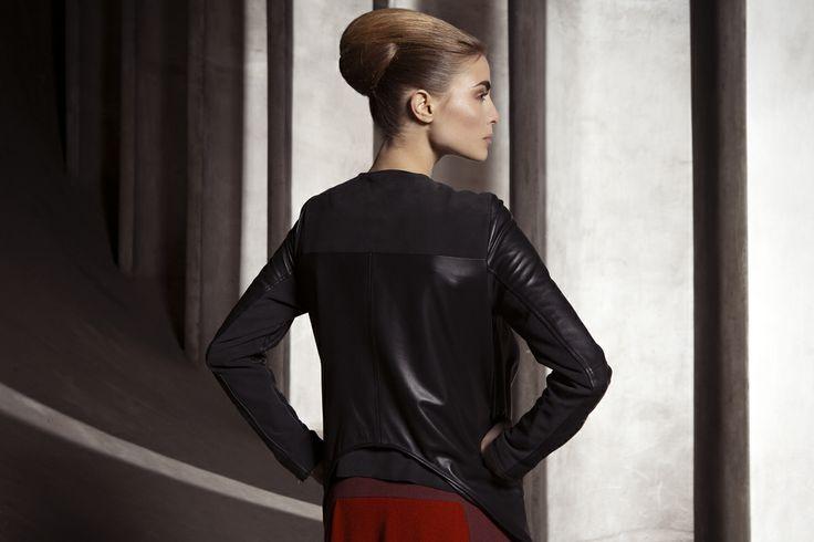 Paula Reindeer Leather Jacket