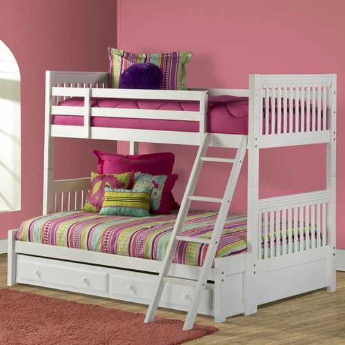 Found it at Wayfair - Lauren Twin over Full Bunk Bed with Trundle