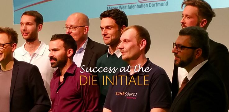 Success at the Die Initiale 2015 #pitch #Dortmund #westfalenhalle #Startup #Germany #NRW #bochum #3dprint #3dprinting #cad #Solutions #entrepreneurship