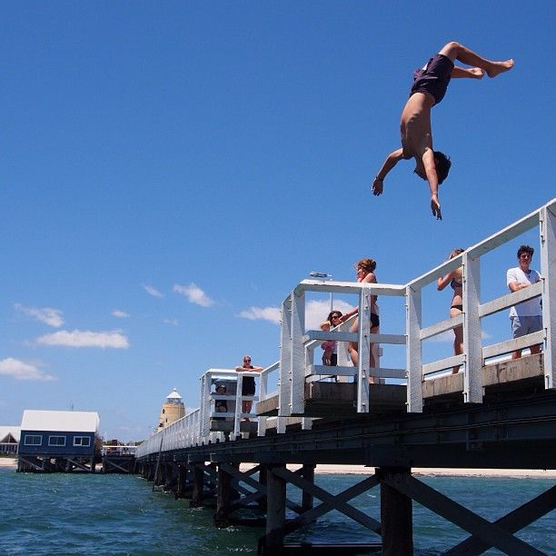 Busselton Jetty Western Australia - I have been here and it is beautiful.