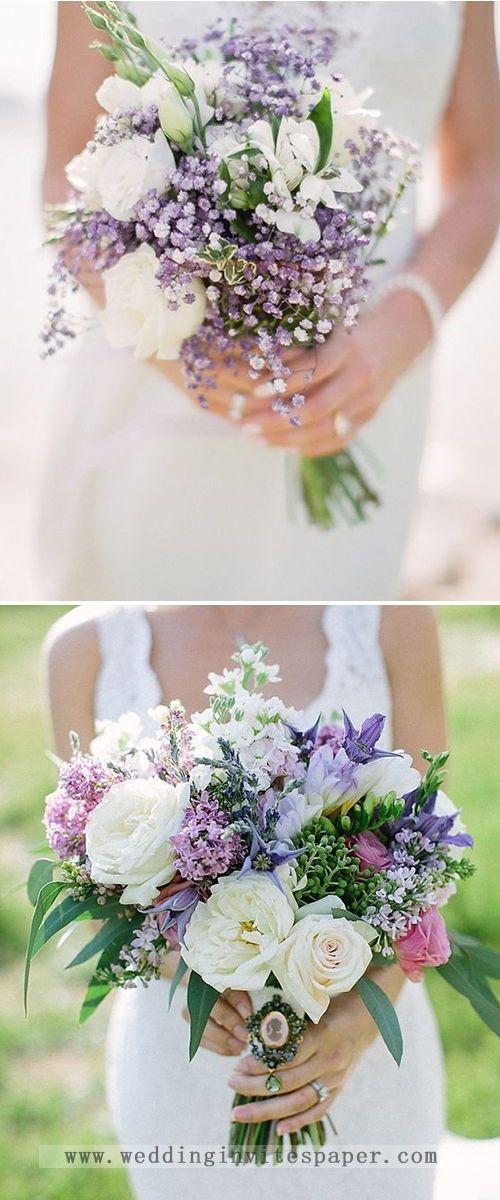 7 Uitzonderlijke paarse kleurencombinaties om te rocken voor 2019 — lichte pueple, lila bruiloft …