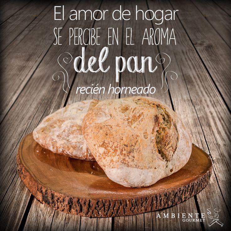 Nada más delicioso que el aroma del #pan recién horneado.