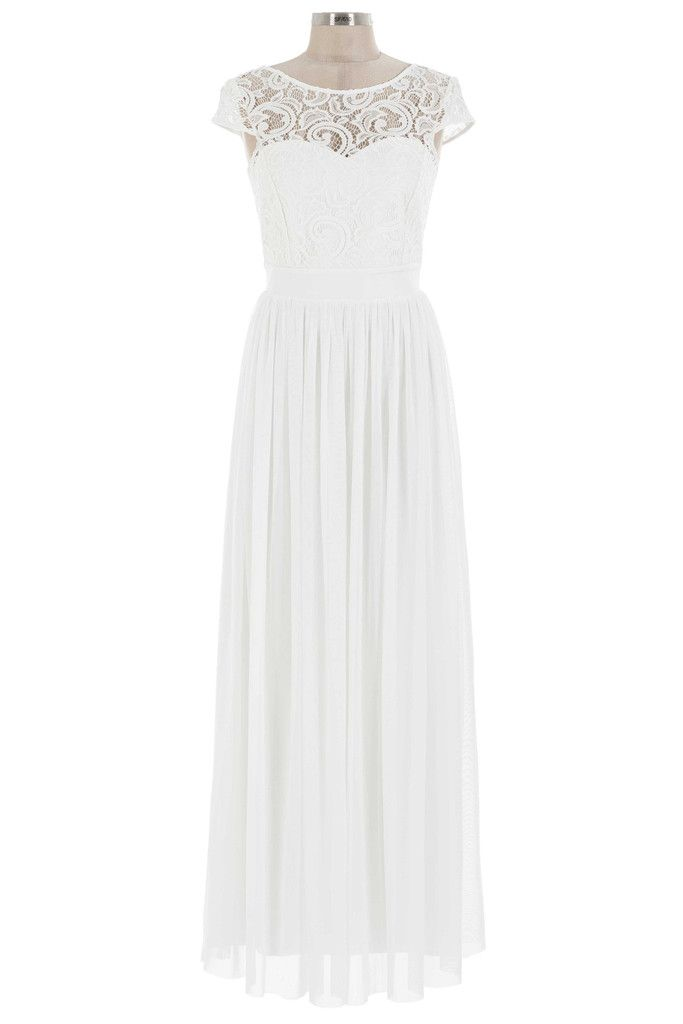 Got A Crush On You Dress - Ivory