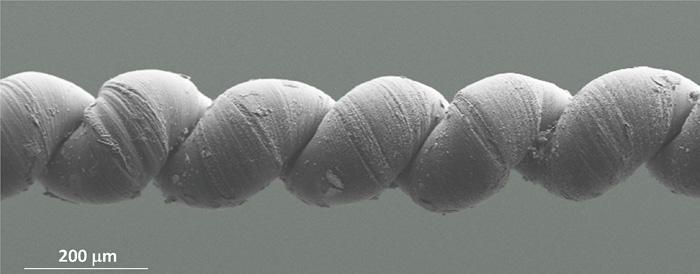 New artificial muscles made from nanotech yarns and infused with paraffin wax can lift more than 100,000 times their own weight and generate 85 times more mechanical power than the same size natural muscle, according to scientists at The University of Texas at Dallas and their international team from Australia, China, South Korea, Canada and Brazil.