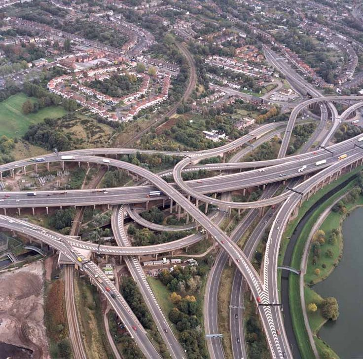 Spaghetti Junction, Birmingham UK