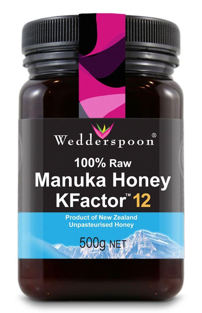 Miere De Manuka Kfactor 12 Raw 500 g Wedderspoon