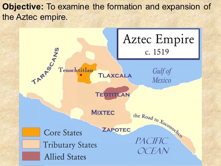 "Aztecs PowerPoint Key Terms and People: - nomads - Hultzilopochtli - Lake Texcoco - Tenochtitlan - empire - tzompantli - sacrifice - sun god - chinampas, or ""floating gardens"" - Aztec calendar"