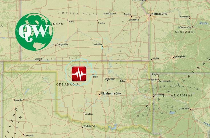 Earthquake Magnitude 5.1 33km (21mi) NW of Fairview, Oklahoma USA - Zone and interactive map