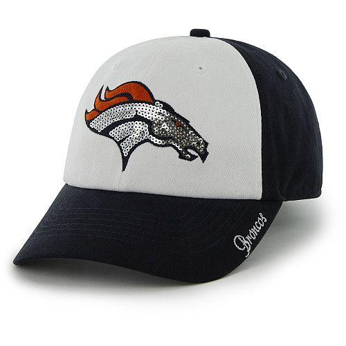Women's '47 Brand Denver Broncos Sparkle Slouch Adjustable Ha - NFLShop.com