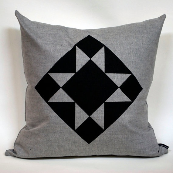 triangle cushion two