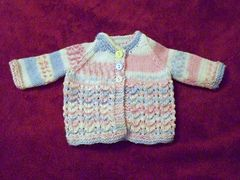 Ravelry: Baby Set to fit 4-5 lb baby pattern by Cynthia