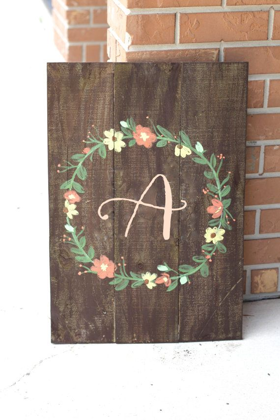 Personalized Rustic Wooden Sign - Wedding Keepsake - Rustic Weddings by ThePaperWalrus on Etsy