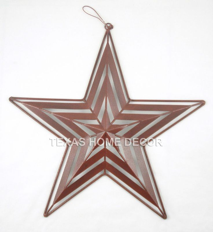 Red Star Wall Decor : Images about metal barn stars on
