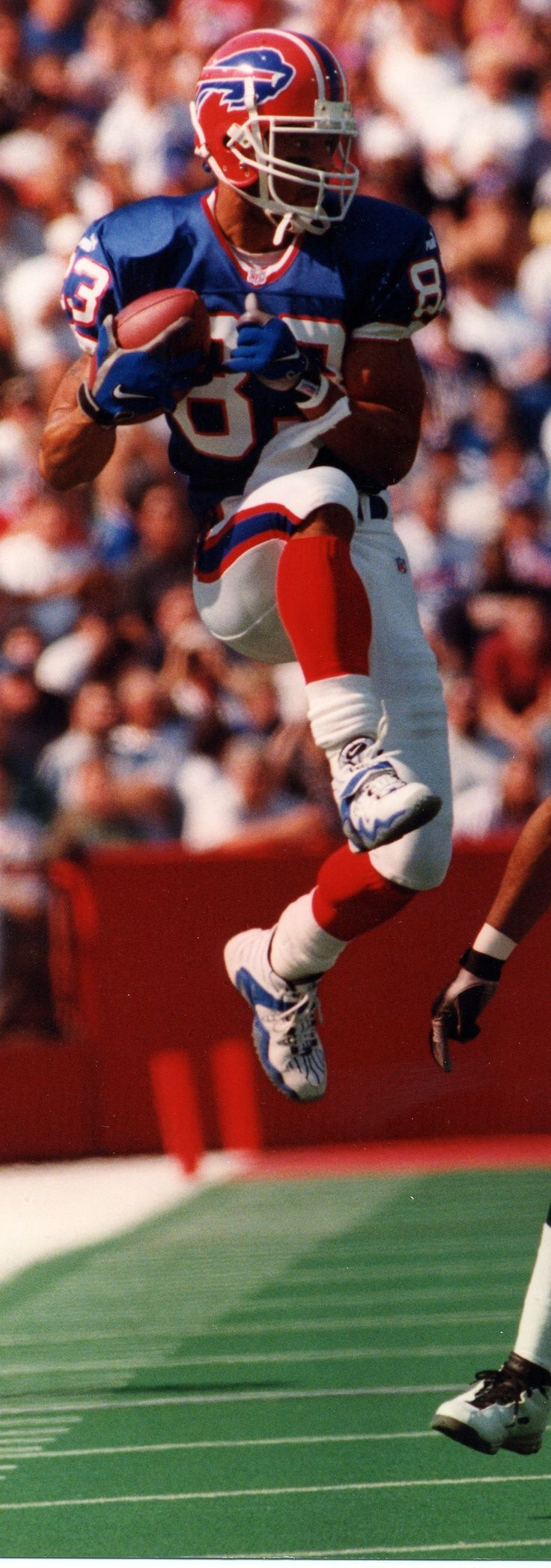 Bills wide reciever Andre Reed was named for the 7th time as a finalist for induction into the Pro Football Hall of Fame. If elected, Andre Reed would be the ninth Buffalo Bills Hall of Fame member joining Joe DeLamielleure, Jim Kelly, Marv Levy, Billy Shaw, O.J. Simpson, Bruce Smith, Thurman Thomas, and Ralph Wilson, Jr. The final inductees will be announced on February 2nd. REPIN to wish Andre good luck!