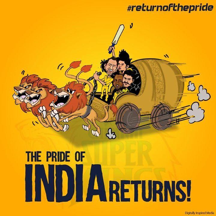 IPL Campaign- #whistlepodu #returnofthepride #csk #IPL7