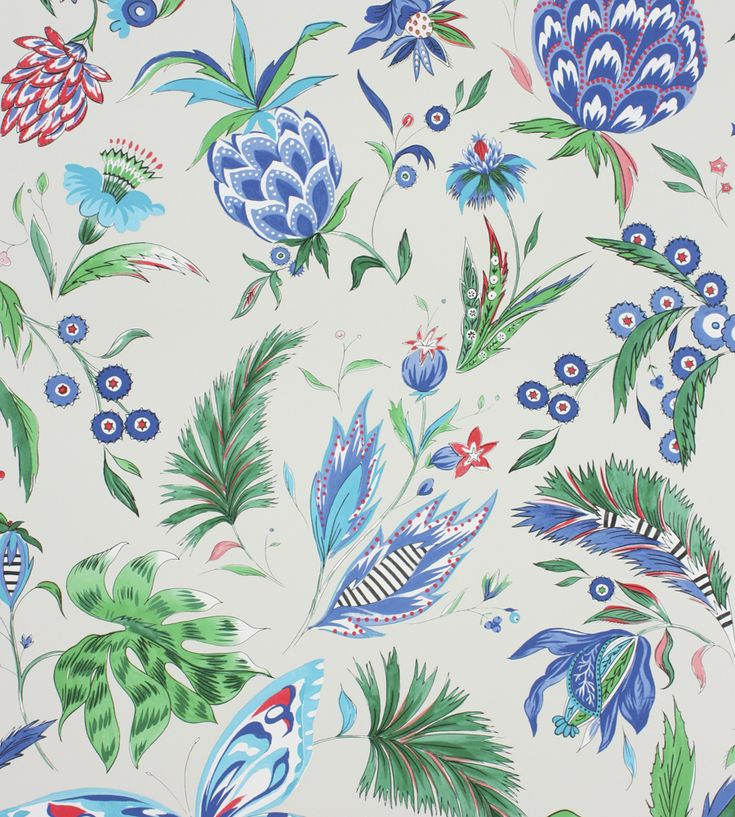 Habanera Wallpaper by Matthew Williamson | Jane Clayton