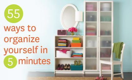 55 productive things you can do in 5 minutes!