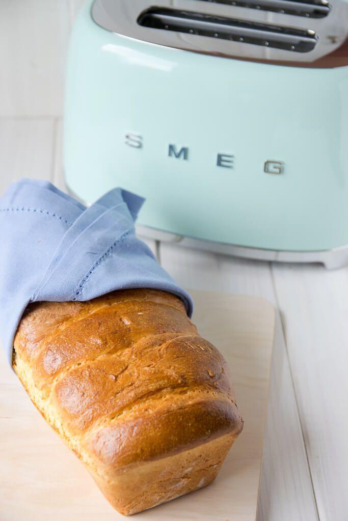 Unglaublich lecker - selbstgemachtes Toastbrot