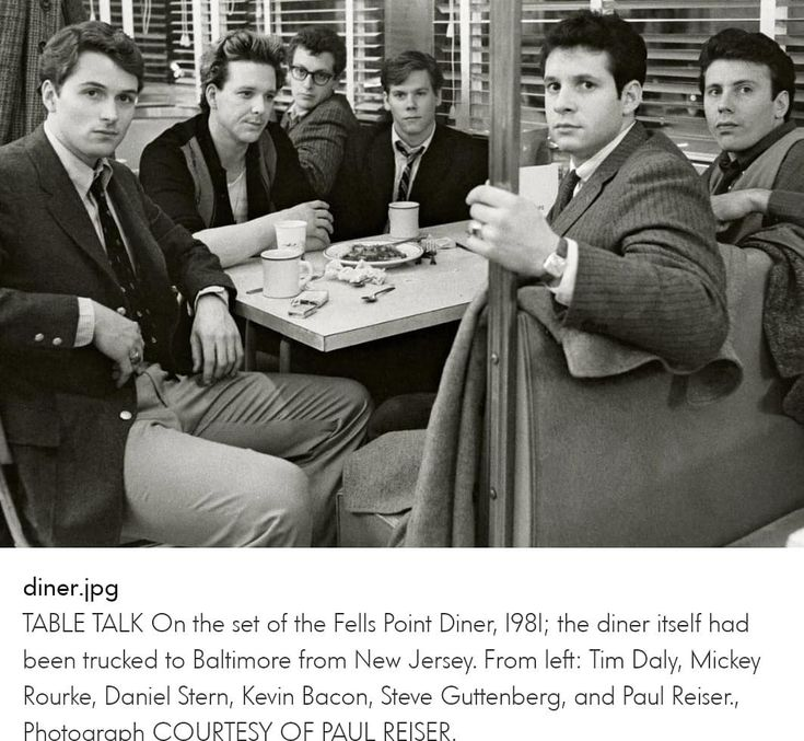 Look what's on  #hbo #diner #movie