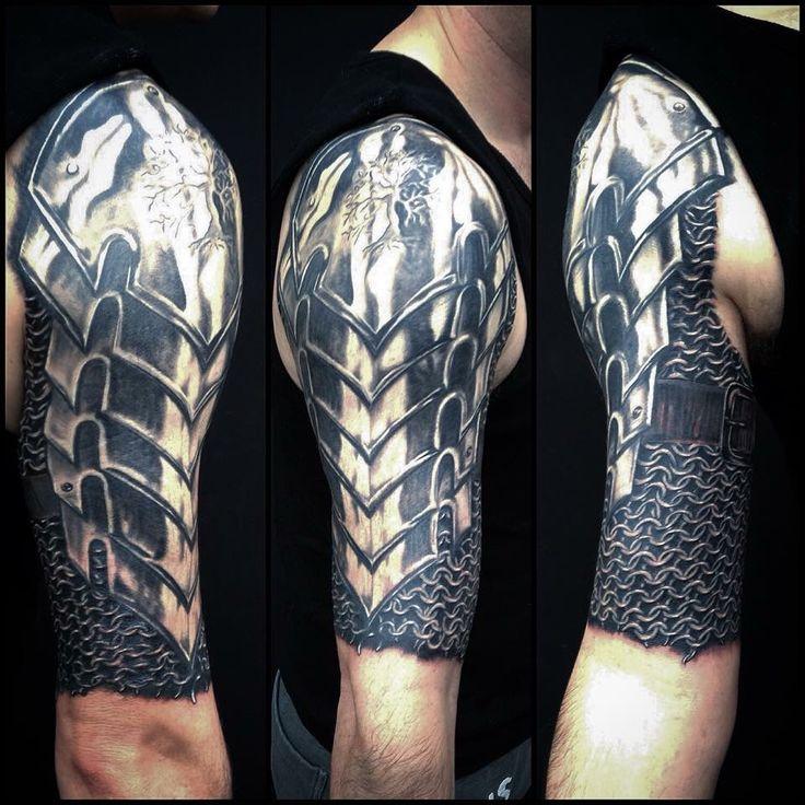 Más de 1000 ideas sobre Tatuaje De Armadura En El Hombro en Pinterest ... X Men Tattoo Sleeve