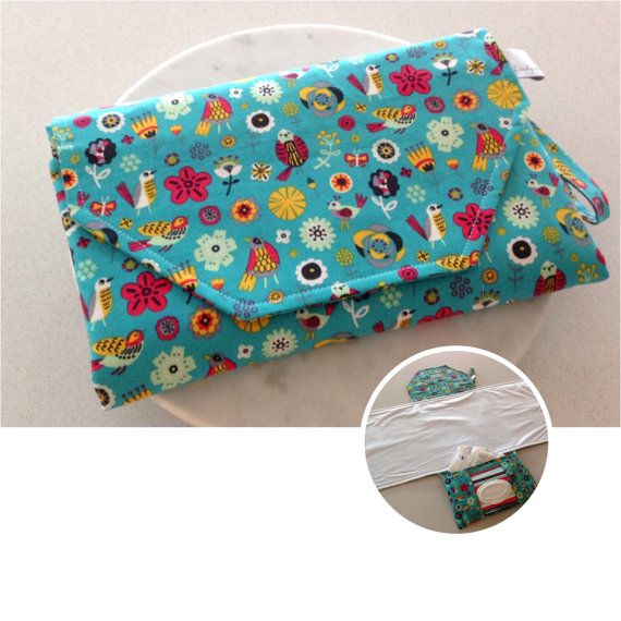 Pocket for 3-4 nappies medium/large nappies wipes pocket X Large WIPE ME DOWN…
