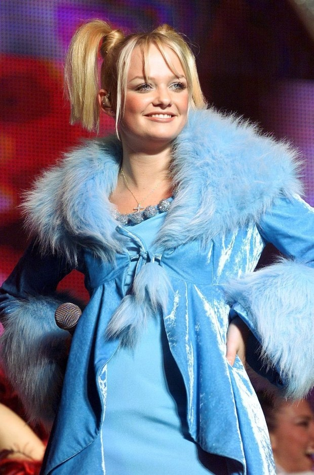 Sweet, sweet Emma Bunton! Now that I'm older, I see that I have always been more of a Baby Spice in life. She was always my second favorite Spice Girl, and today I realize she has the number one sweetest voice in the whole world. I loved her love for stuffed animals and her Mama. -t.