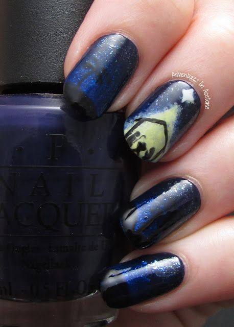 32 best Nails / Nativity images on Pinterest | Christmas nails ...