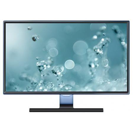Samsung S27E390H  — 15075 руб. —  В обновленной серии SE390 Samsung обновил дизайн рамки, подчеркивая его полупрозрачным голубым оттенком Touch of Color. Супер тонкая рамка с четырех сторон дисплея обеспечивают чистый и современный внешний вид и естественным образом фокусируют взгляд на изображении. Дизайн Touch of Color переходит также на подставку, что обеспечивает гармоничный и целостный общий дизайн монитора.