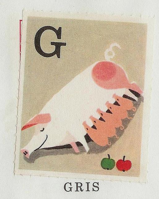 Pig & Piglets - G is for Gris & Griskultingar (Swedish)