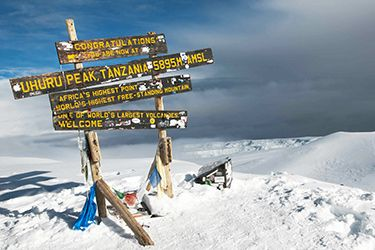 AMBIANCE TREK... Le Kilimandjaro en Tanzanie - http://www.absolu-voyages.com/voyages/tanzanie/tanzanie-kili-marangu.htm