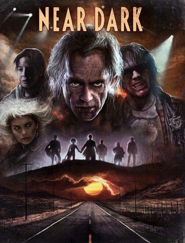 Near Dark Near Dark Scary Movies Horror Posters