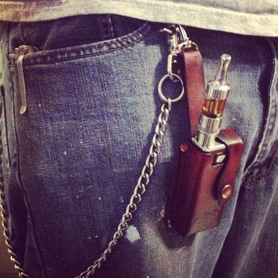 MVP Vapor Electronic Cigarette E-Cigarette Leather Case Holder