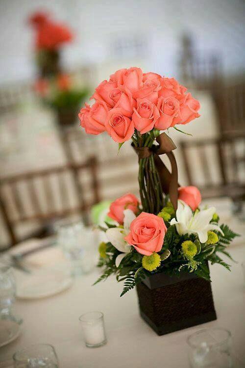 Best 25 centros de flores naturales ideas on pinterest arreglos florales arreglos de flores - Centro de flores naturales ...