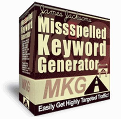 Price: 0.99 USD  Of All The Keywoyd And Phrase Searches Entered Into Major Search Engines Each Day Over 10 to 20,000,000 Of Them Are All Misspelled.  Download This File At: http://www.tradebit.com/filedetail.php/7846863-misspelled-keyword-generator-mrr