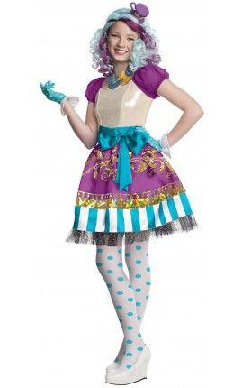Disfraz de Madeline Hatter Ever After High para niña