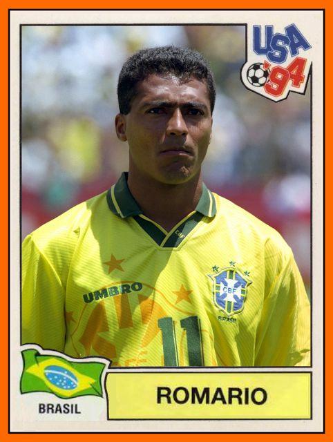 Romário de Souza Faria (born 29 January 1966), known simply as Romário ; former Brazilian footballer, manager and current politician