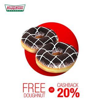 Krispy Kreme Promo Spesial Tcash http://www.perutgendut.com/read/krispy-kreme-promo-spesial-tcash/5650 #PerutGendut #Food #Kuliner #News #Indonesia #WisataKuliner