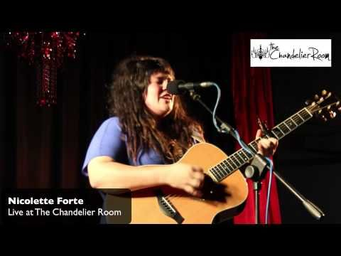 Live at The Chandelier Room - Nicolette Forte.  The best acoustic performances, every Saturday night.