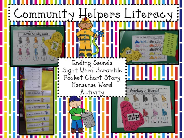 Mrs. Mayas' Kindergarten: Community Helpers  a FREEBIE