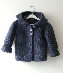 TUTO DU PALETOT - Une Aiguille dans une Botte de Foin Free pattern in English: http://ddata.over-blog.com/xxxyyy/0/32/30/83/Hooded-baby-jacket.pdf